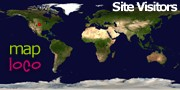 Locations of Site Visitors